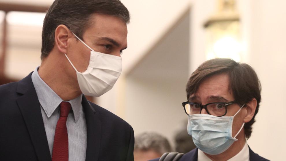 El ministro de Sanidad y el presidente Sánchez visitarán Cantabria el jueves y el viernes