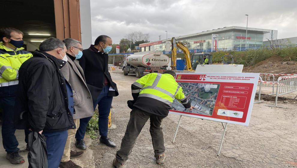 Un centenar de familias de Villafranca tendrá solucionado su problema de inundaciones en unos 4 meses