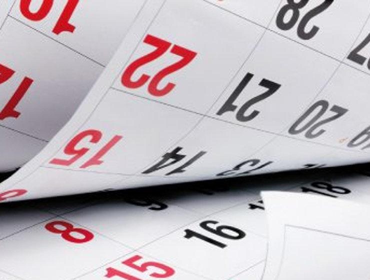 Calendario Laboral Santander 2020.El Calendario Laboral De 2019 Tendra 12 Dias Festivos Y Dos Puentes